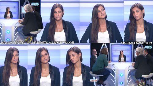 Malika-Menard-Je-me-remets-au-sport-MCS-100915
