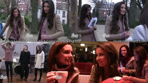Malika Menard Paris tout compris 190113 making of 500x281 Making of Paris tout compris Miss France 2013 (video)