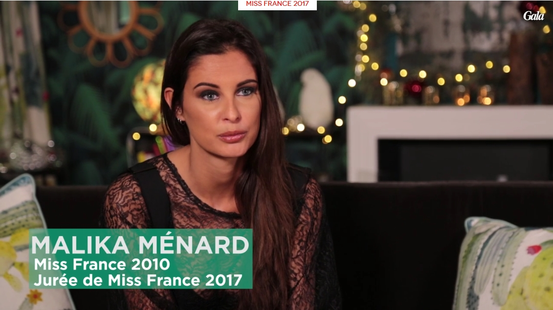 Malika m nard dans le jury miss france 2017 video malika m nard - Miss france 2017 interview ...